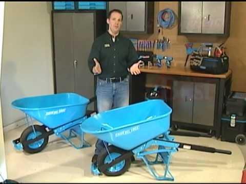 Worlds Most Compact Wheelbarrow By Pancake Wheel Solid Doovi