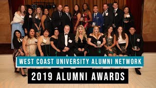 WCU Presents Second Annual Alumni Network Awards 2019