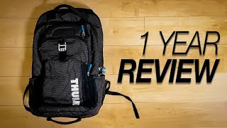 Thule Crossover Backpack 32L -  1 Year Review (TCBP-417)