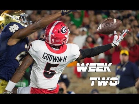 college-football-week-two-highlights-2017-18-ᴴᴰ