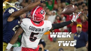 College Football Week Two Highlights 2017-18 ᴴᴰ