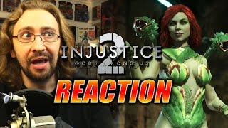 MAX REACTS: Poison Ivy Trailer (Injustice 2)
