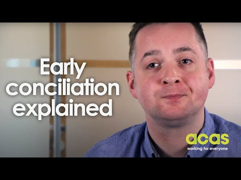 Early Conciliation Explained | Acas