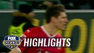 Video Gol Pertandingan Wolfsburg vs Vfb Stuttgart