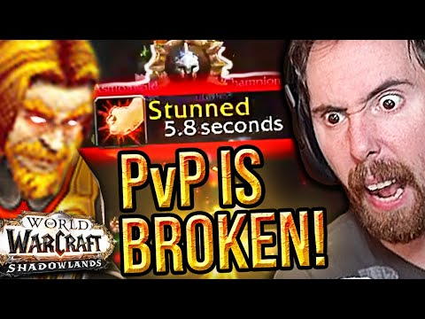 Asmongold DELETED in His FIRST Shadowlands Arena - PvP is SO FUN! (ft. Mcconnell)