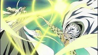 Rayleigh arrête Kizaru et sauve Zoro - One piece [VF]