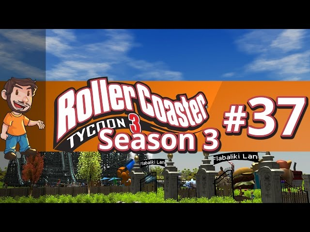 Let's Play Rollercoaster Tycoon 3 - RIDING THE RIDES! #3