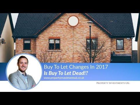 ◉ Is Buy-To-Let Dead In 2017?