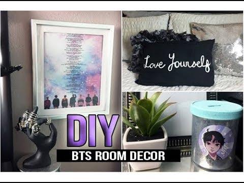 ►DIY KPOP BTS DNA/LOVE YOURSELF ROOM DECOR