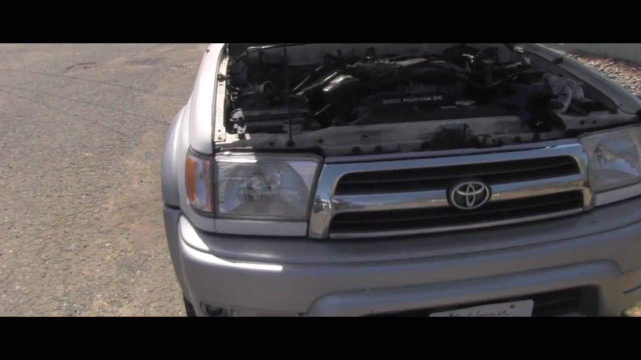 Toyota 4Runner checking power steering fluid