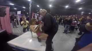 Video Dirty old man forgets where he is as his Perv Switch goes off with stripper at Exxxotica NJ 2015 download MP3, 3GP, MP4, WEBM, AVI, FLV Agustus 2018