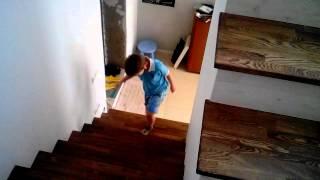 видео Подсветка лестницы