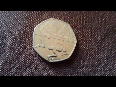 Rare 50p Commonwealth Games Coin