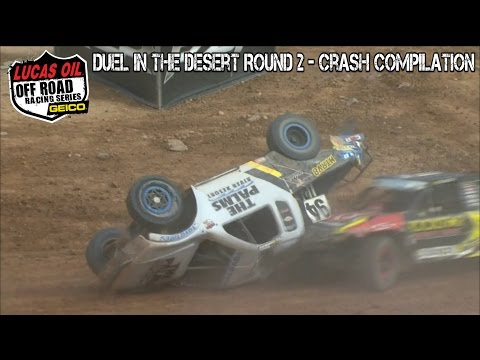Off Road Racing Series  2017  Duel In The Desert Round 2  Crash Compilation