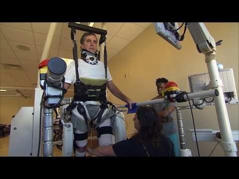 Father Paralyzed In Freak Bodysurfing Accident Learns To Walk Again