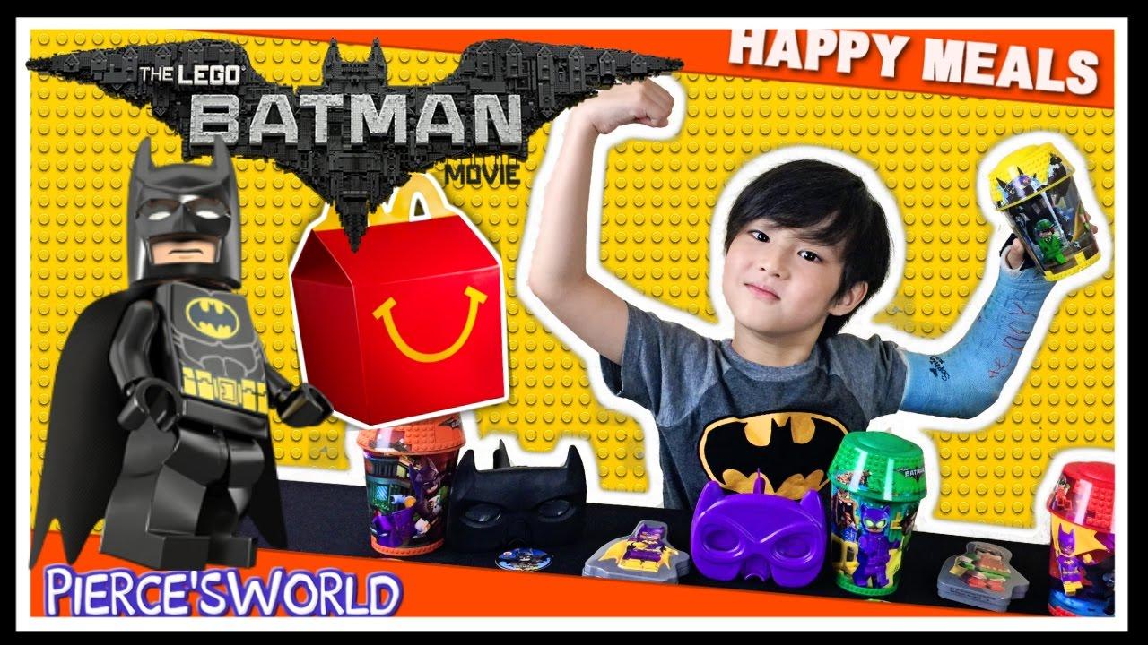 Lego Batman Movie McDonald's Happy Meal Toys 2017 - Pierce ...