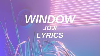 window joji lyrics