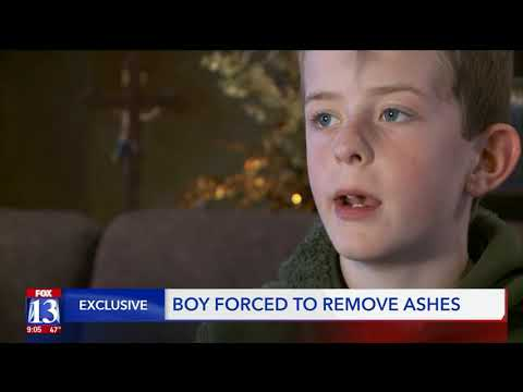 Utah teacher forces student to remove ash from forehead on Ash Wednesday