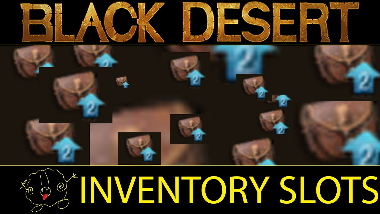 Inventory slot quests bdo