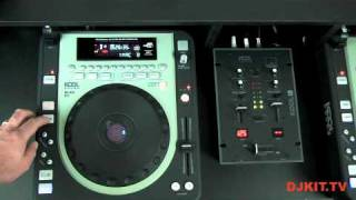 Kool Sound CDJ620 MP3 Tabletop Scratch CD/MP3/USB Player