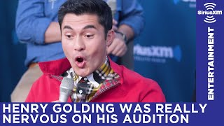 Henry Golding recalls being nervous on his