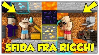 CHI DIVENTA PIÙ RICCO VINCE! - Minecraft ITA