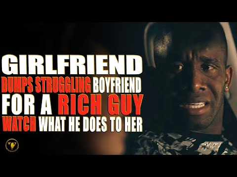 Bedwench Dumps Struggling Boyfriend For Serpent Rich Guy, Watch What He Does To Her.