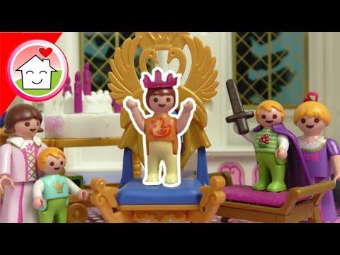 Playmobil Film deutsch - Annas Geburtstag im Schloss - Familie Hauser Spielzeug Kinderfilm