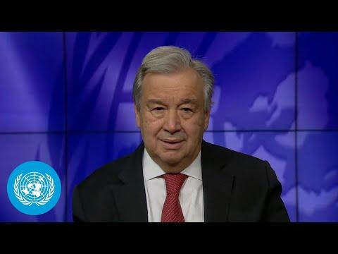 Biological Diversity Day 2021 - António Guterres (UN Secreta