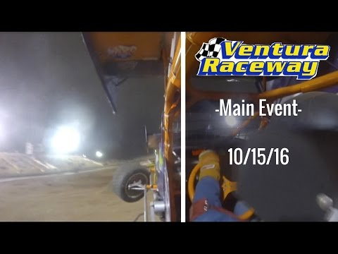 California Lightning Sprint at Ventura Raceway -Main Event- 10/15/16