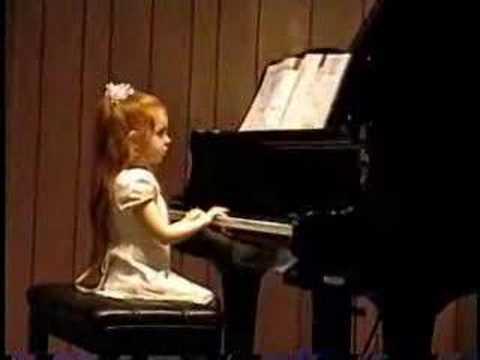 5 yr old Piano Recital by Macy