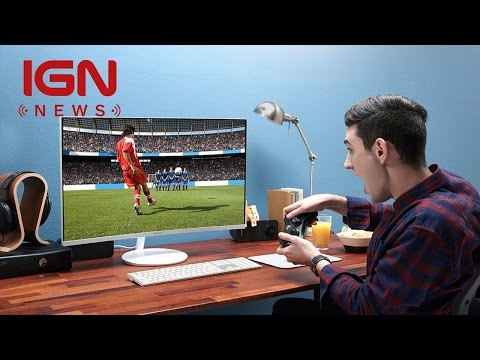 Wrap Your Head Around Samsung's New Curved Gaming Monitors - IGN News