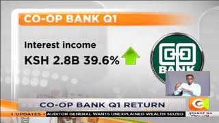 Co-op Bank reports 4.4 % rise in Q1 profits