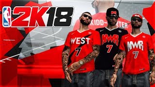 NBA 2K18 - #NewWaveRegime TEAM JERSEYS SHOWCASE! (Home, Away, & Alternate Jerseys! + Allstar Jerseys