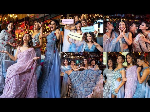Shakti Mohan, Neeti Mohan & Mukti Mohan Looks Stunning In Their Royal Wedding Look