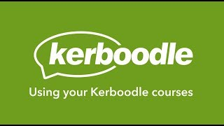 Kerboodle student: Using Kerboodle