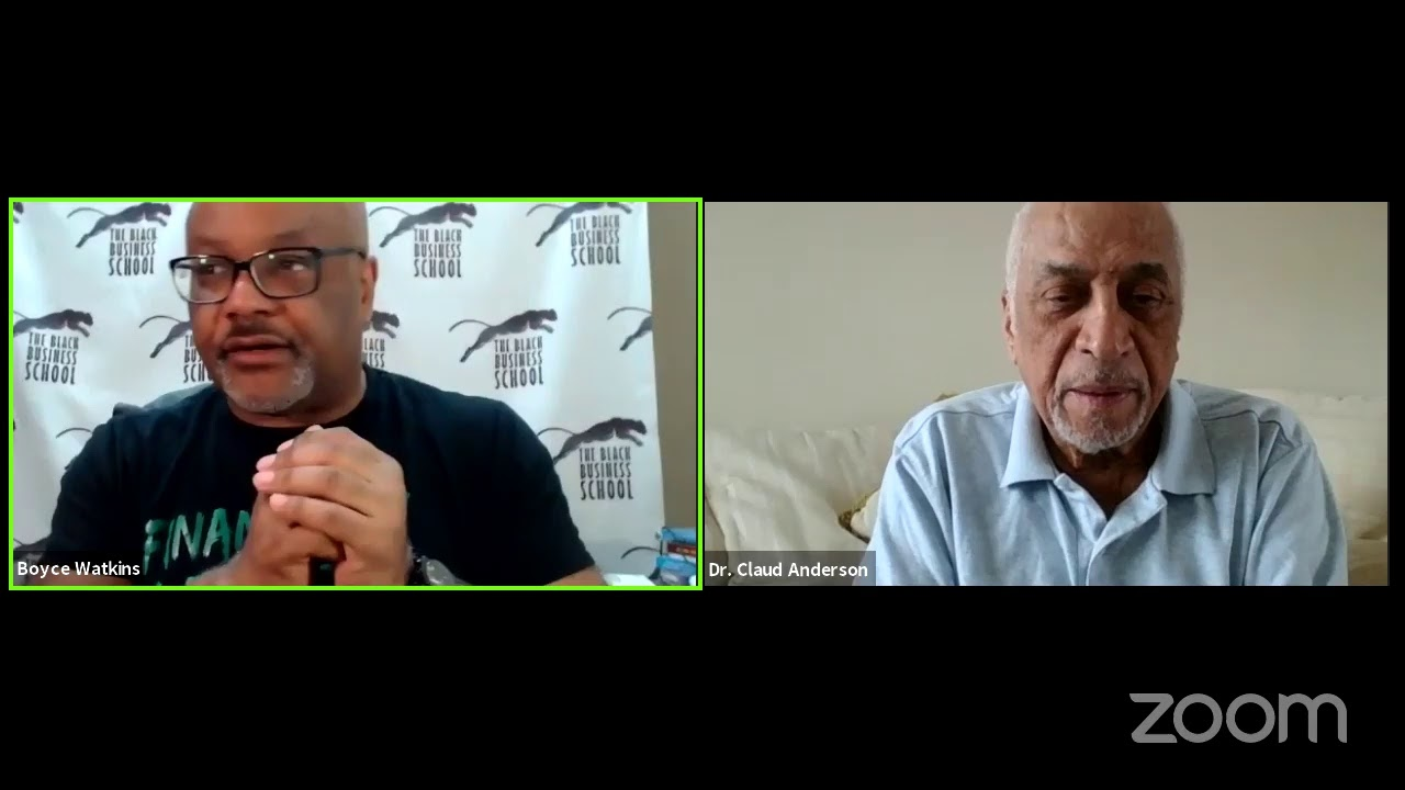 The history of our men being falsely accused - Dr Claud Anderson