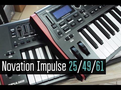 Novation Impulse 49 / 25 / 61 Обзор