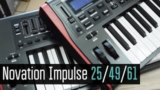 Novation Impulse 49 / 25 / 61 Обзор
