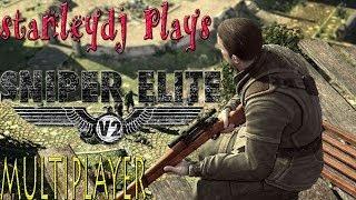 Sniper Elite V2 Multiplayer Gameplay -  THOSE SKILLS!!    [ULTRA graphics!]