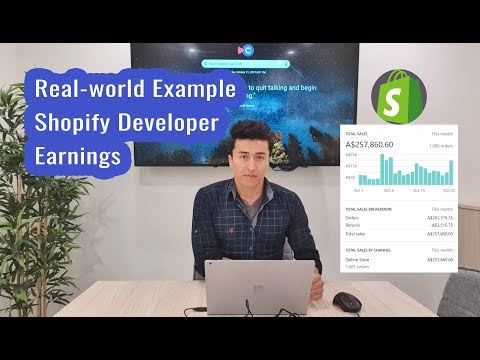 How much Money $$ Developers make from Shopify + Agencies ? thumbnail