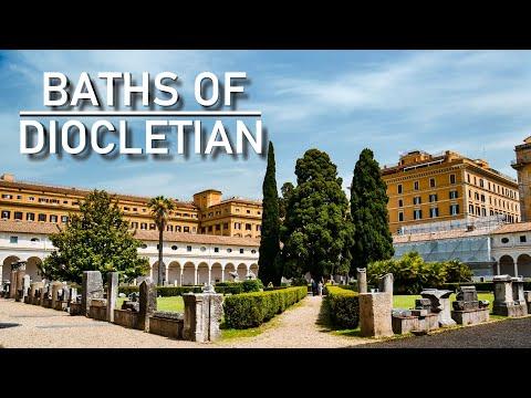 Baths of Diocletian & Santa Maria degli Angeli, Rome