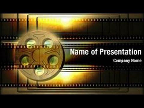 movies powerpoint video template backgrounds - digitalofficepro, Modern powerpoint