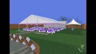 Backyard Wedding - Vivien Virtual Event Design