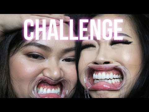 DENTAL MOUTH OPENER CHALLENGE | Marcella Febrianne