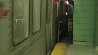 TTC Bloor-Danforth T1: Leaving the Osgoode Pocket Track