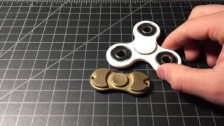 $3 Spintech Omega Spintech fidget tri-spinner review (cheapest hand spinner sold today!)