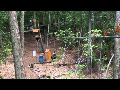 Camp Fortune Aerial Park Zip Lining