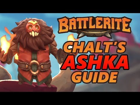 Ashka Battlerite Guide and Loadout Overview