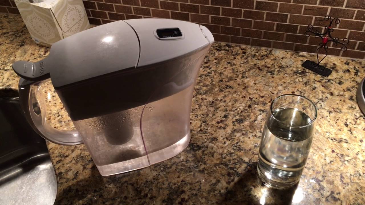 HOW TO USE A BRITA WATER FILTER